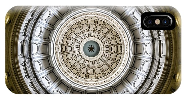 Capitol Building iPhone Case - Texas Capitol Dome by Stephen Stookey