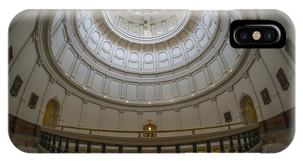 Texas Capitol Dome Wide Angle IPhone Case
