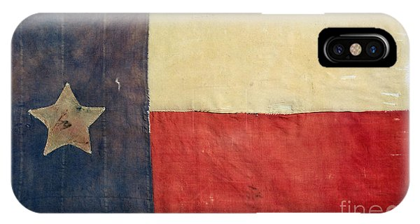 Texas Flag, 1842 IPhone Case