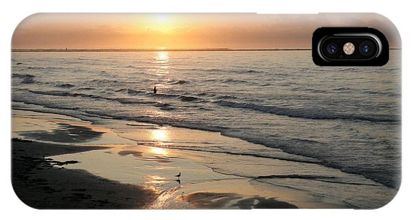 Texas Gulf Coast At Sunrise IPhone Case