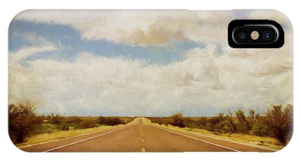Texas iPhone Case - Texas Highway by Scott Norris