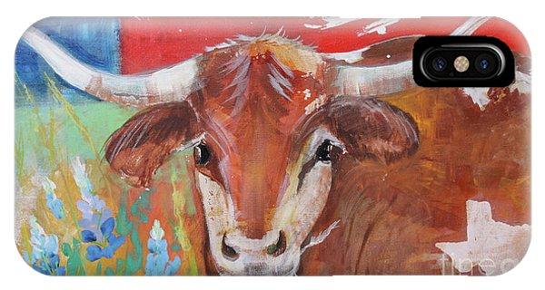 Texas Longhorn IPhone Case