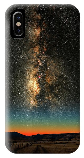 Texas Milky Way IPhone Case