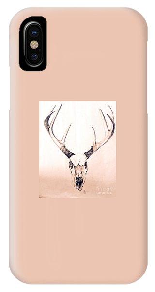 Texas Mount Deer IPhone Case