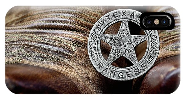 IPhone Case featuring the photograph Texas Rangers And Lucchese Boots by JC Findley