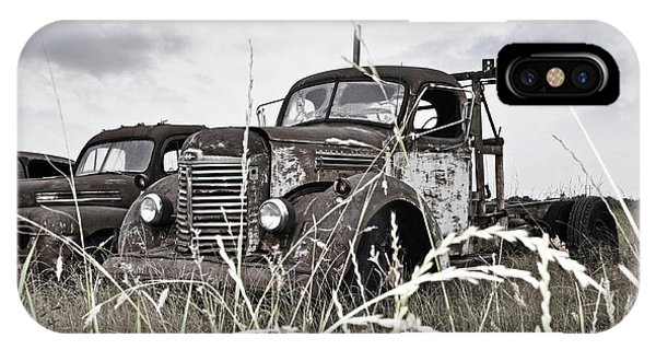 iPhone Case - Texas Roadside Tow Truck by Chris Andruskiewicz