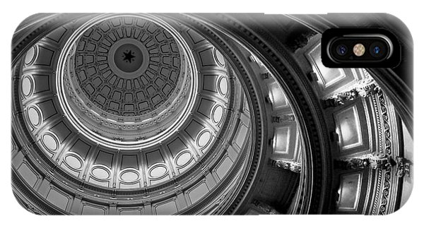 Fielding iPhone Case - Texas State Capital Dome Austin  by Wendy Fielding