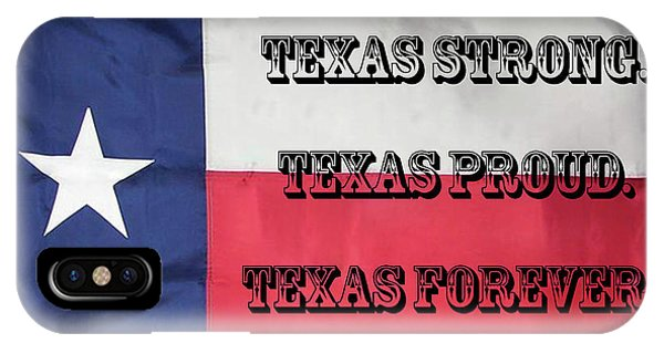 Texas Strong IPhone Case