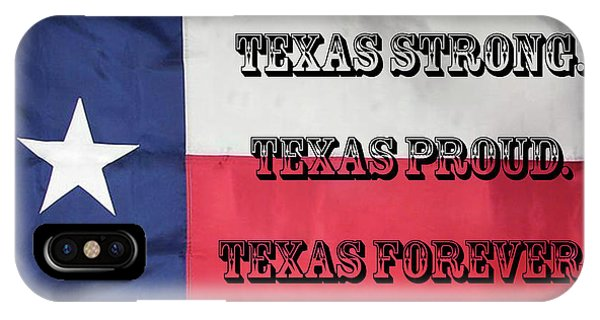 Texas Strong IPhone Case