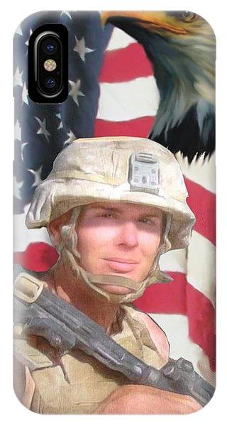 Texas Warrior IPhone Case