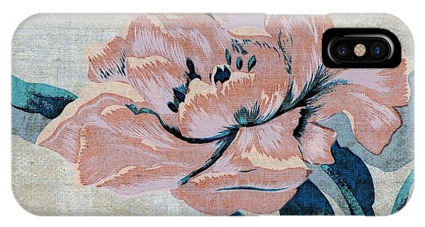 Textured Floral No.2 IPhone Case