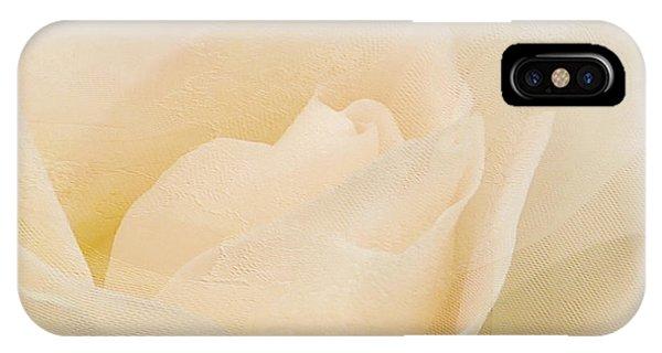 Textured Pastel Rose IPhone Case