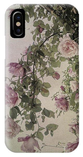 Textured Roses IPhone Case