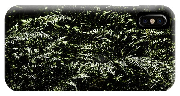 Garden Wall iPhone Case - Textures Of A Rainforest by Jorgo Photography - Wall Art Gallery