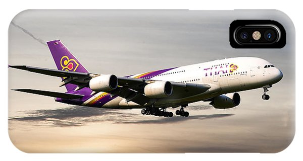 Airline iPhone Case - Thai Airlines by Smart Aviation