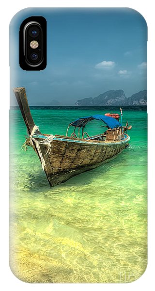 Moor iPhone Case - Thai Longboat  by Adrian Evans