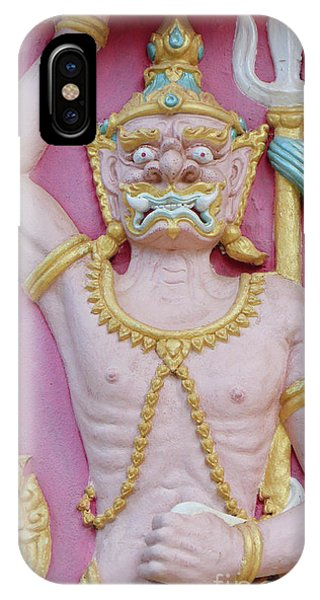 Thai Temple Art I IPhone Case