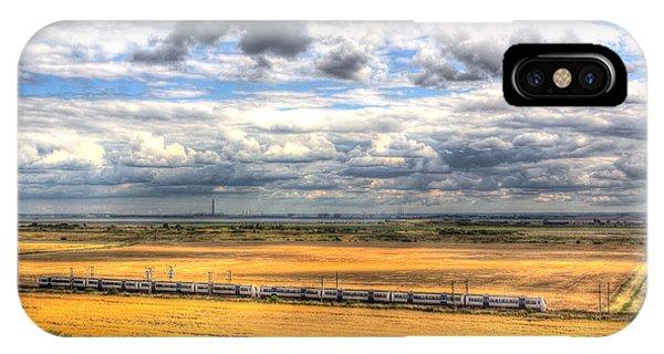 Thames Estuary View IPhone Case