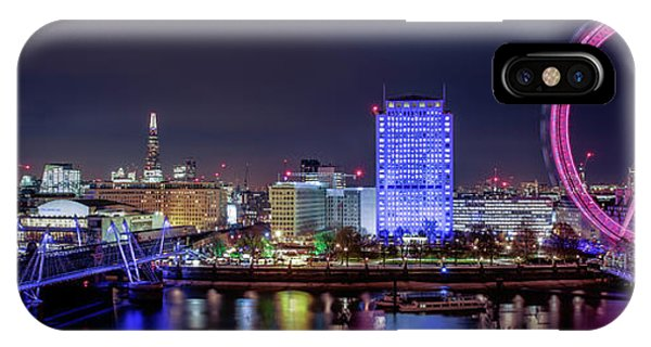 Thames Panorama IPhone Case