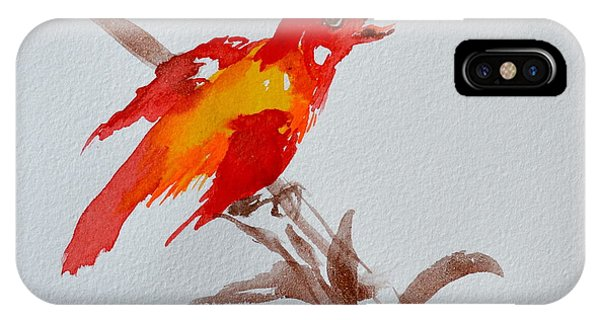 Thank You Bird IPhone Case