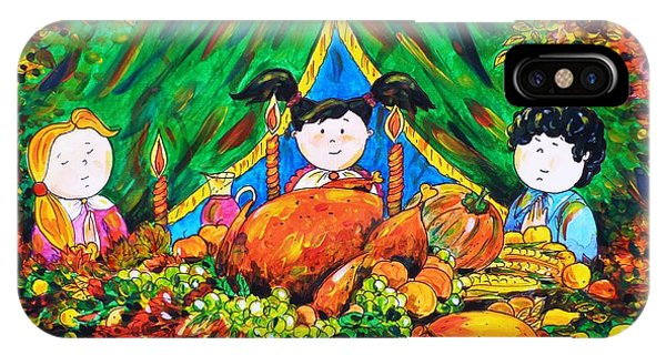 Thanksgiving Day IPhone Case