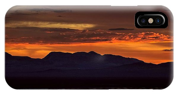 That Final Glimpse Into Abyss On The Brink Of Eruption IPhone Case
