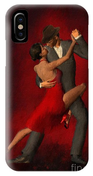 Tango iPhone Case - That Moment by John Edwards