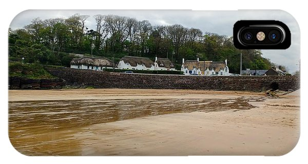 Dunmore East iPhone Case - Thatched Cottages In Dunmore East Ireland  by Catherine McGrath