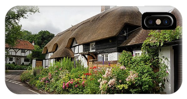 Thatched Cottages In Micheldever IPhone Case