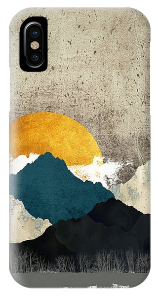 Abstract Landscape iPhone Case - Thaw by Katherine Smit