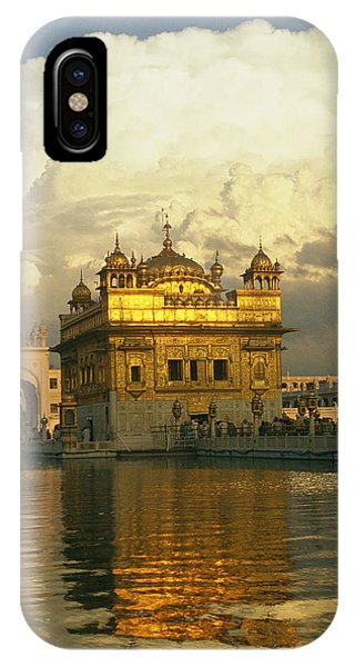 The 16-th Century Golden Temple IPhone Case