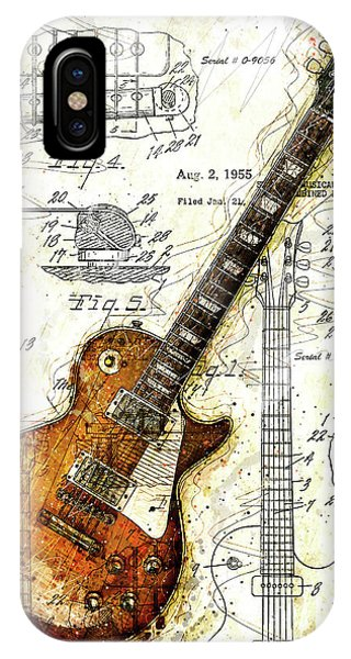 The 1955 Les Paul Custom IPhone Case