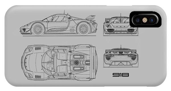 Porsche 918 Spyder Iphone Cases Fine Art America