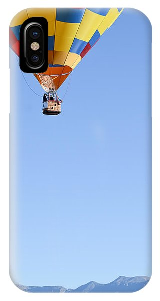 The Air Up There... IPhone Case
