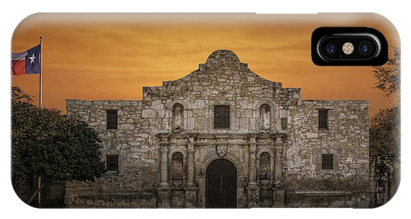 The Alamo Mission In San Antonio IPhone Case