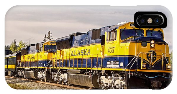 The Alaska Railroad IPhone Case