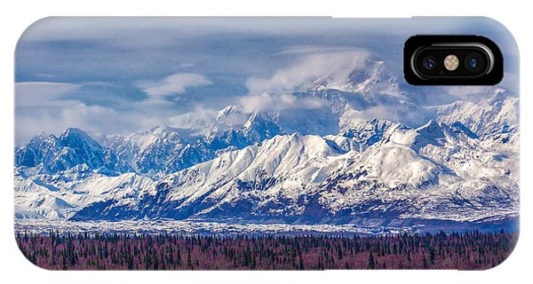 The Alaska Range At Mount Mckinley Alaska IPhone Case