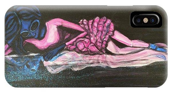 The Alien Ballerina IPhone Case