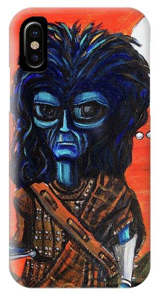 The Alien Braveheart IPhone Case