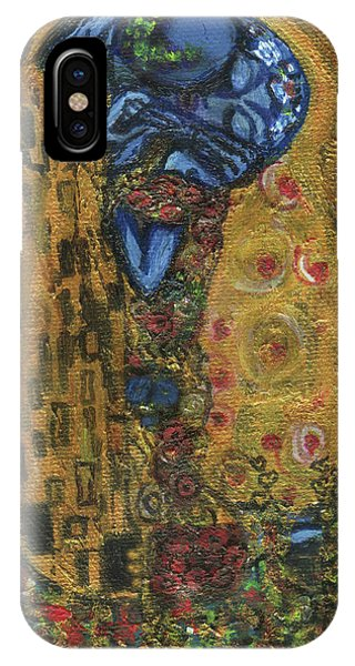 The Alien Kiss By Blastoff Klimt IPhone Case