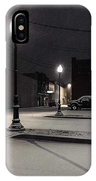 IPhone Case featuring the photograph The Alley by Kendall McKernon