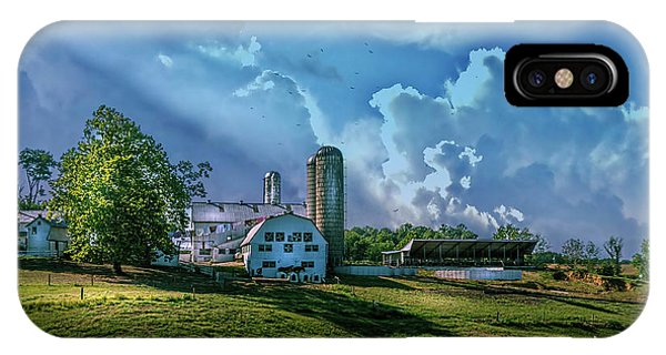 Amish iPhone Case - The Amish Farm by Marvin Spates