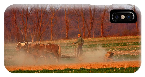 Amish Country iPhone Case - The Amish Way by Scott Mahon