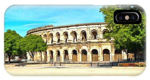 The Amphitheatre Nimes IPhone Case