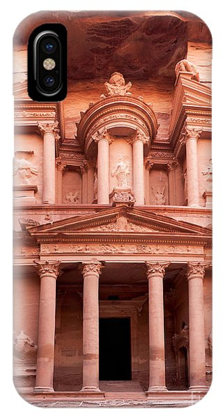 The Ancient Treasury Petra IPhone Case