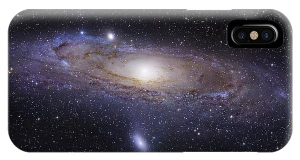 Space iPhone Case - The Andromeda Galaxy by Robert Gendler