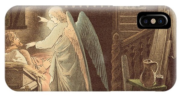 The Angel Appearing To Joseph IPhone Case