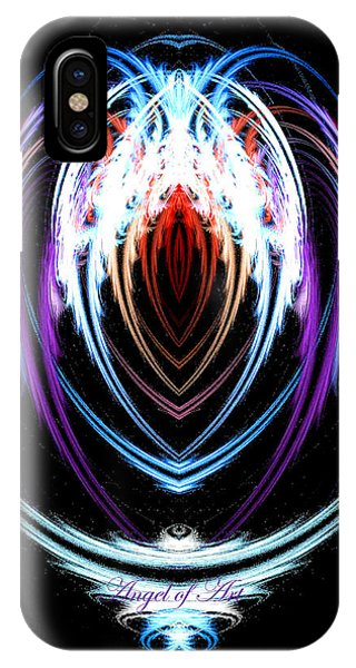 The Angel Of Art IPhone Case