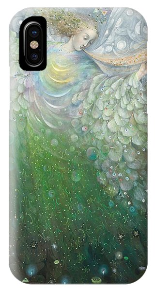 The Angel Of Growth IPhone Case
