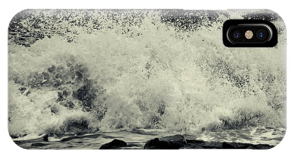The Angry Sea IPhone Case